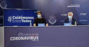 MINSAL REPORTÓ 1.152 CASOS NUEVOS DE CORONAVIRUS Y 17 FALLECIDOS