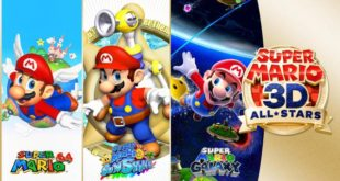 SUPER MARIO 3D ALL STARS ANUNCIADO PARA SWITCH CON SUPER MARIO 64, SUNSHINE Y GALAXY