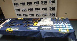 DOS DETENIDOS POR TRÁFICO DE DROGAS Y TENENCIA DE ARMAS Y MUNICIONES